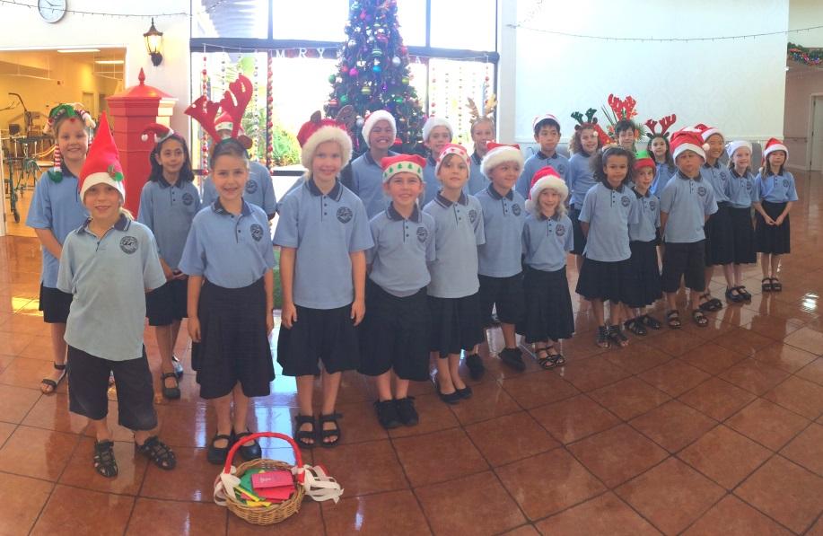 Christmas carols at St Andrew's Village 2017